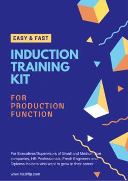 Induction Training-Production